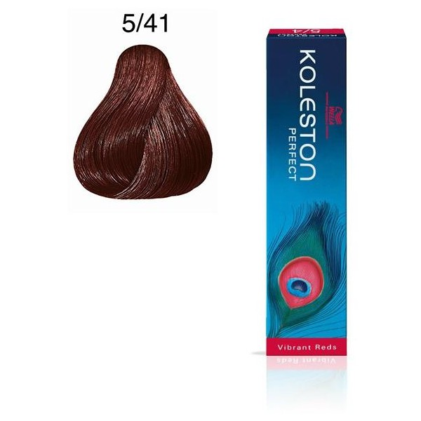 Koleston Perfect 5/41 Light Brown Copper Ash 60ml