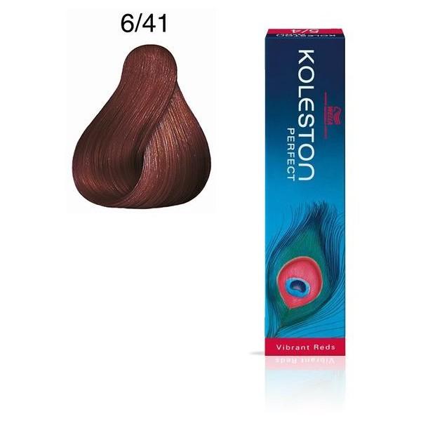 Koleston Perfect 6/41 Blond Foncé Cuivré Cendré 60ml