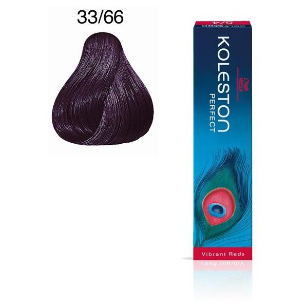 Koleston Perfect 33/66 Castagno scuro viola porpora intenso - 60 ml