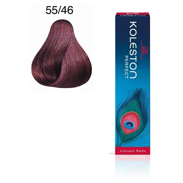 Koleston Perfect 55/46 - Castagno chiaro ramato viola porpora intenso - 60 ml