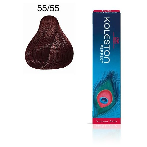 Koleston Perfect 55/55 Hellbraun Mahagoni Intensive 60ml