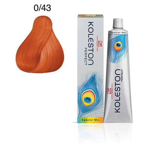 Koleston Perfect 0/43 Copper 60ml
