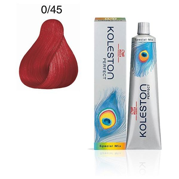 60ml Color Perfect 0/45 Rojo