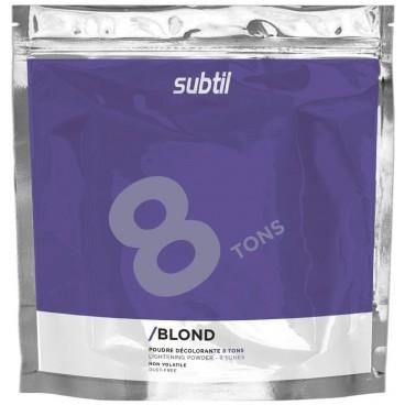 Subtil Blond Poudre Décolorante 8 tons 500 Grs