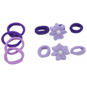 SET HAIR ZUBEHÖR KINDER PURPLE