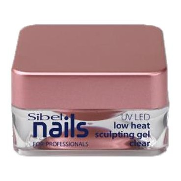 Gel UV/Led Modelant Clear Basse Température Sibel Nails 15ml