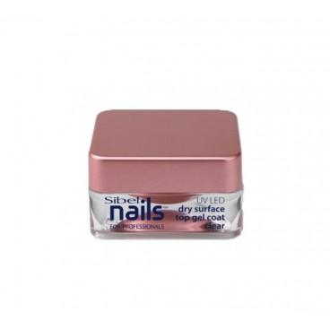 Top Coat Gel UV/Led Transparent Sibel Nails 15ml