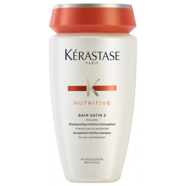 Bain Satin 2 Nutritive Kérastase Nutrition 250 ML