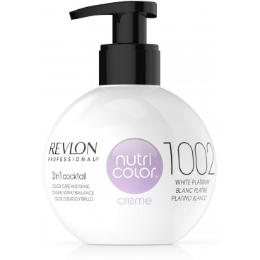 Nutri Color 1002 Platine Blanc 270 ML