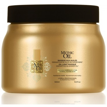 Masque Mythic Oil Cheveux Fins 500  ML