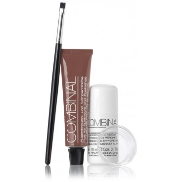 Kit coloration Combinal Cils et Sourcils Brun/Marron