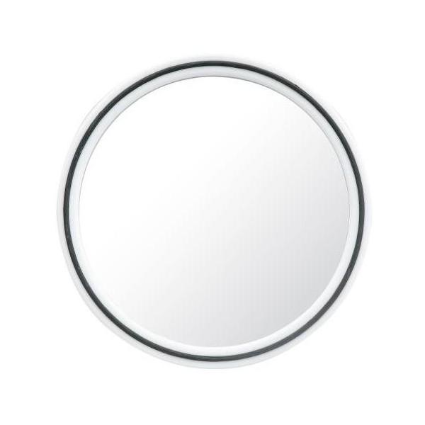 Redondo blanco del espejo m gico for Espejo redondo blanco