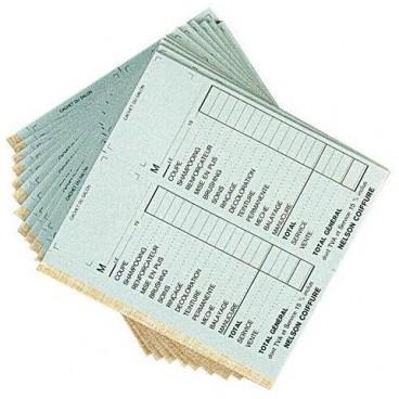 Paquet de 10 carnets caisse doubles sans N°