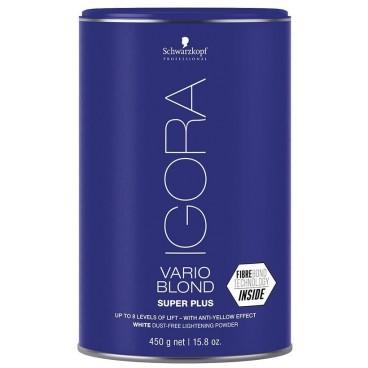 Poudre décolorante Vario Blond Super Plus Blanche 450 Grs