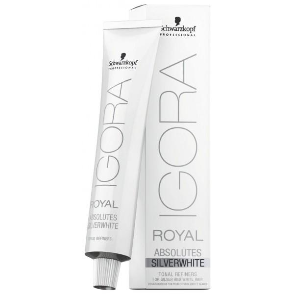 Igora Royal Absolutes Silver White Gris acier 60 ML