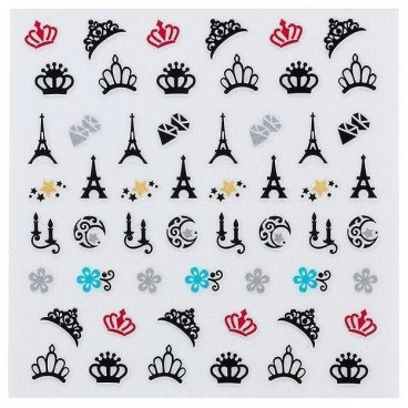 Adhesive decorations Peggy Sage Nails 149232