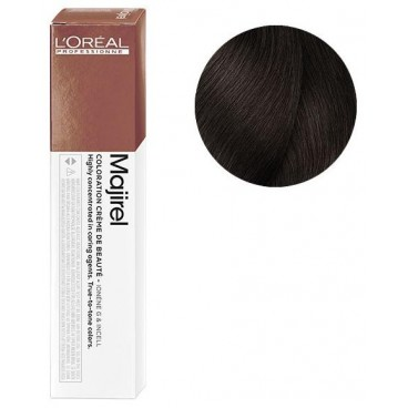 Tube Coloration Majirel 4.35 Chatain doré acajou 50 ML