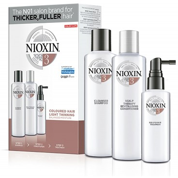 kit soin nioxin n°3 Cheveux Visiblement Clairsemés Fins et sensibilisés