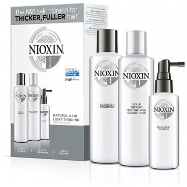Kit Soin Nioxin N°1 Cheveux Normaux et Naturels