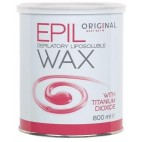 Pot Cire Epil Wax Rose Dioxyde titane 800 Grs