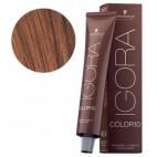 Real Igora color de 10 cobrizo claro 5-7 rubia 60 ML