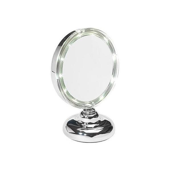 Specchio ingrandente x 8 a Led - Ellepi -