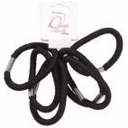 Tasche aus elastischem 6 Ellepi Schwarz 735