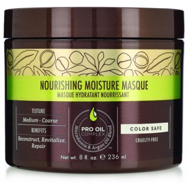 Maschera Nutriente Idratante all'Olio di Macadamia 236 ML