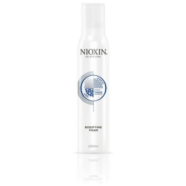 Nioxin Mousse épaississante Bodifying Foam Pro-Thick 200ml