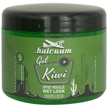 Gel fixing kiwi Hairgum 500 ML