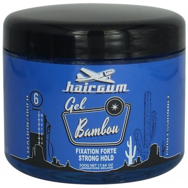 Gel fixing bamboo Hairgum 500 ML