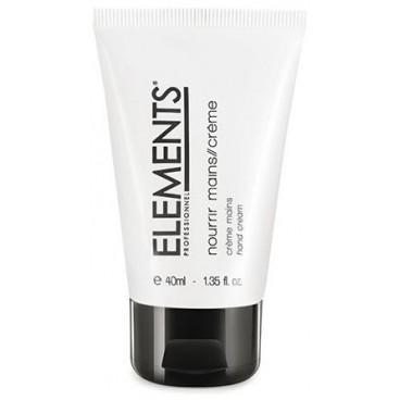 Crème nourrissante mains Elements - 40 ML