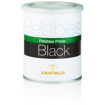 Peelable Wax Pot Black Xanitalia 800 ML