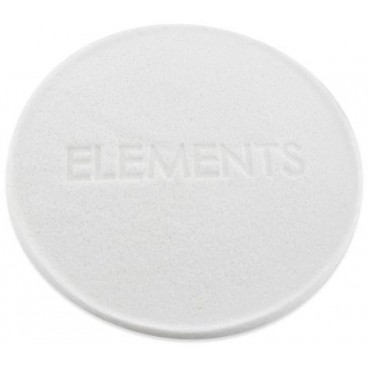 Eponge de soin blanche Elements