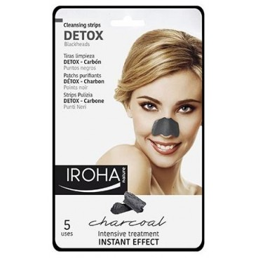 IROHA Patchs purifiant Nez anti points noirs