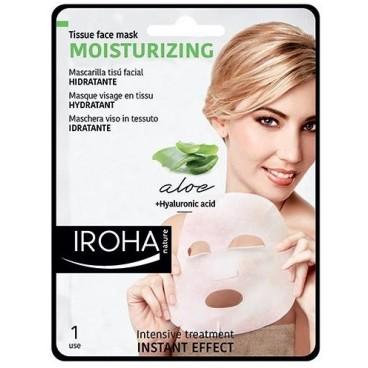 Masque visage tissu hydratant IROHA