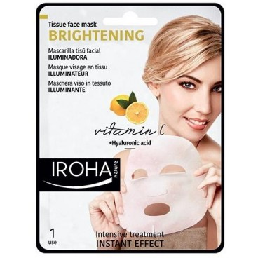 Masque visage tissu illuminateur IROHA