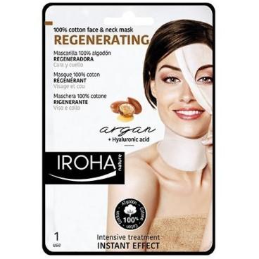 Masque visage coton régénérant IROHA