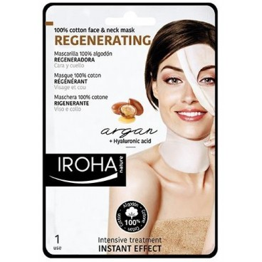 Anti-wrinkle fabric face mask IROHA