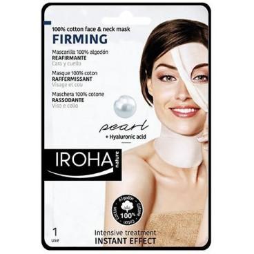 Masque visage & cou coton raffermissant IROHA