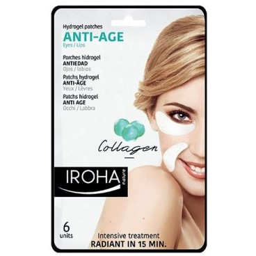 Patch yeux / lèvres anti-age IROHA