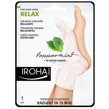 Chaussettes masques relaxantes pieds et ongles IROHA