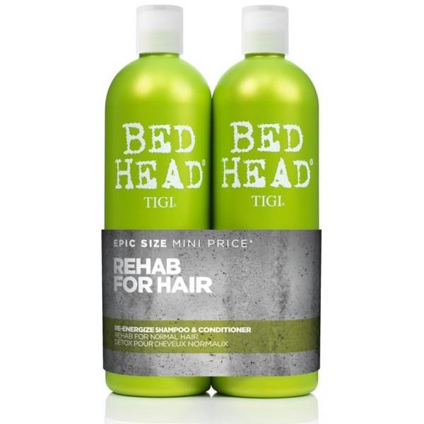Tigi Bed Head - Pack Re-Energize - 2 x 750 ml