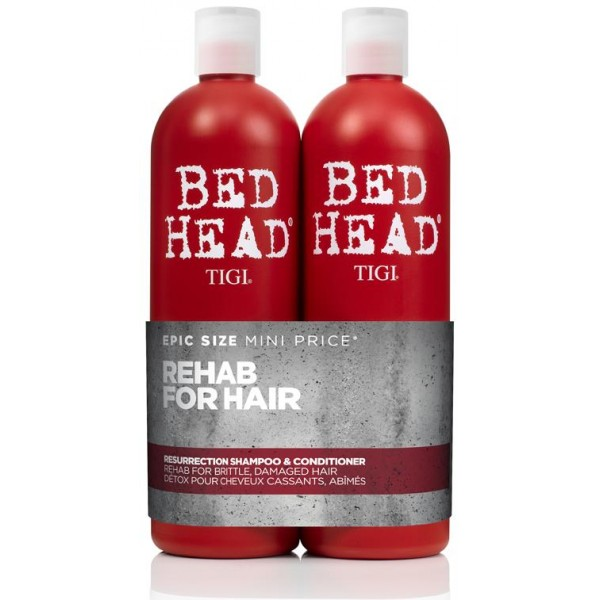 Tigi Bed Head resurrección Pack 2 x 750 ML