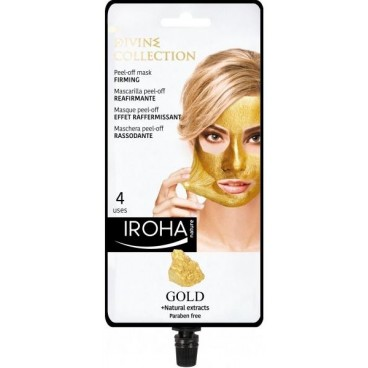 Masque visage peel-off gold IROHA