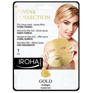 Masque visage peel-off raffermissant gold IROHA