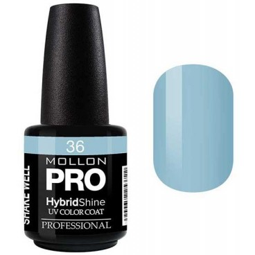 Vernis Semi-Permanent Hybrid Shine Mollon Pro 15ml Irys - 36