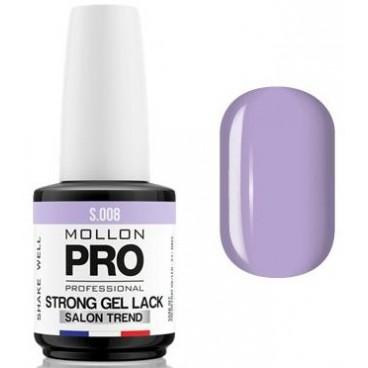 Vernis Permanent Soak Off Strong Gel Lack Mollon Pro Lavende - 08