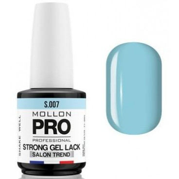 Vernis Permanent Soak Off Strong Gel Lack Mollon Pro Myosotis - 07