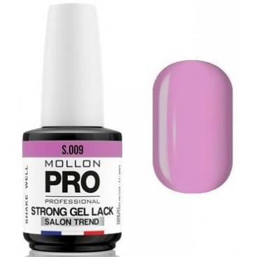 Vernis Permanent Soak Off Strong Gel Lack Mollon Pro 12ml Orchidée - 09